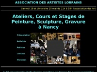 associationdesartisteslorrains.fr