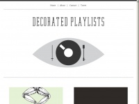 decoratedplaylists.com
