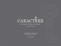 Caractere-immobilier.ch