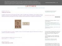 Présentation de quelques timbres et lettres