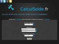 Calculsolde.fr
