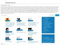 Scènes de vie | Littérature, théâtre(s), arts, société et couleurs du temps