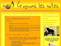 Croquonslesnotes.free.fr