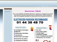 electricien75016.com