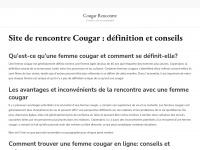 Cougarrencontre.fr
