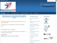 Codep49badminton.fr