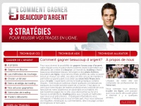 commentgagnerbeaucoupdargent.net