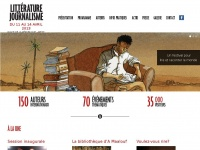 litteratureetjournalisme.com
