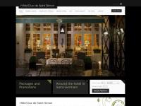 hotelducdesaintsimon.com