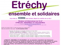Etrechy.ensol.free.fr - ETRECHY, ENSEMBLE ET SOLIDAIRES