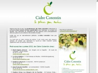 Cidrecotentin.fr