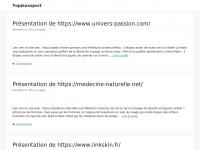 Topjeuxsport.fr