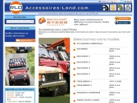 Accessoires Land Rover pour 4x4 Defender, Freelander, Discovery, Range Rover