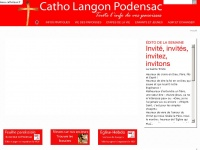 Catholangonpodensac.fr