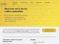 Cahiers-naturalistes.com