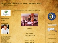 Le guide EGGER© des restaurants