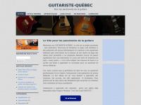 Guitaristequebec.ca