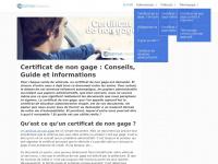 Certificatdenongage.info