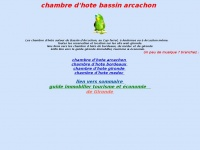 Chambredhotearcachon.free.fr