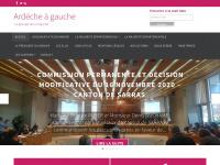 Ardecheagauche.fr