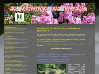 Accueil et présentation des Jardins de Quercy