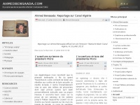Bienvenue sur le site de Ahmed Bensaada