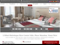 Hotel Helvetique Nice Hotel Nice Centre Le Site officiel: Au centre de Nice, tout confort, climatisation, possibilité de garage, Wifi et borne internet gratuits