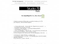 studio78paris.com