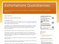 exhortations-quotidiennes.blogspot.com