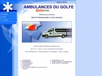 ambulancesdugolfe.fr