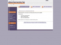 abonnements.be
