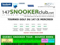 147 SNOOKER CLUB
