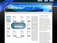 Calculateur Poker : calculateur de probabilités poker hold'em