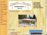 Charpente-menuiserie.ch