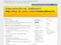 Chambresdhotes.tv