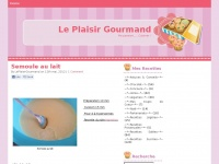 leplaisirgourmand.fr