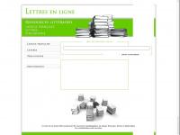 lettresenligne.net