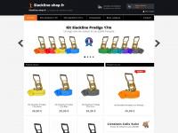 La boutique de Slackline en ligne - A partir de 35,90EUR - Slackline-shop.fr