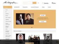 Autographe - Vente Autographes & Photos dédicacées de Stars - All Autographes