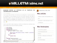 milletmaxime.net