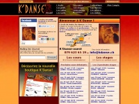 Kdance.ch - Ecole K'Danse: cours et stages de salsa, disco-fox, hip-hop, flamenco, danses de salon, etc.