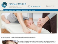 osteopathe-clement-mathus.fr