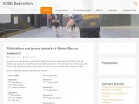 acbb-badminton.fr