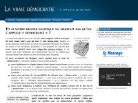 Lavraiedemocratie.fr