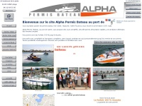 Alpha-permis-bateau.fr