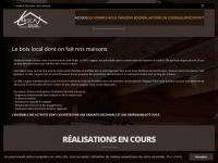 fustes bois rondins construction maison contemporaine bois brut. Black Bedroom Furniture Sets. Home Design Ideas