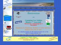 Campinglessablesblancs.fr