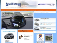 auto location voiture guadeloupe auto discount location. Black Bedroom Furniture Sets. Home Design Ideas