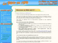 Bible-mp3.fr - La Bible en MP3