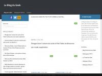 Blog jeux vidéo, le blog d'un geek, pour les geeks (ou pas)